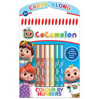 Cocomelon Colour by Numbers
