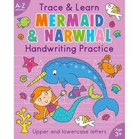 Trace & Learn: Mermaid & Narwhal Handwriting Practice