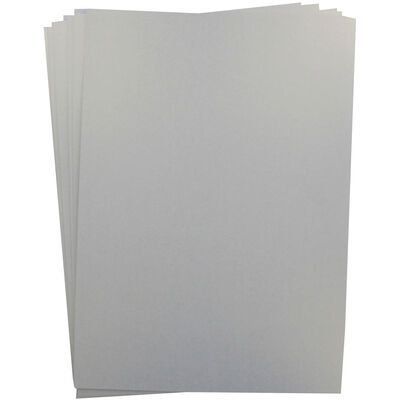 Centura Pearl A4 Snow White - Hint of Silver Card - 10 Sheet Pack image number 2