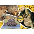 National Geographic Wildlife 104 Piece Jigsaw Puzzle image number 2