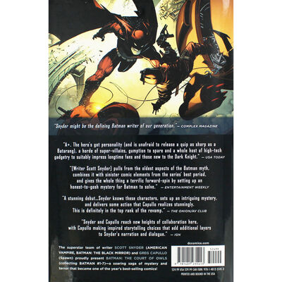 Batman: Volume 1 - The Court Of Owls image number 3