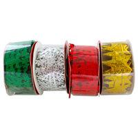Christmas Ribbon 3m: Assorted