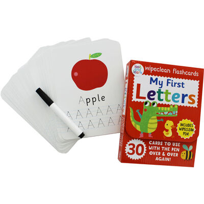 My First Letters - Wipeclean Flashcards image number 2