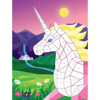 Kaleidoscope Kids Sticker Mosaics: Mythical Creatures