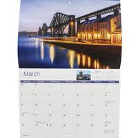 Edinburgh A4 Calendar 2020