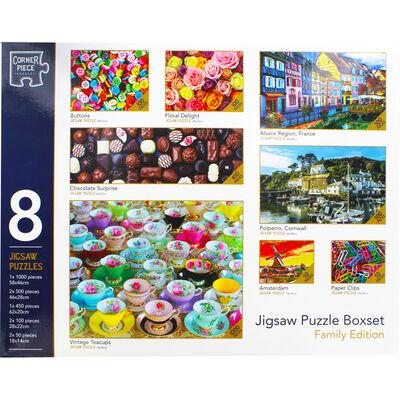 Family Jigsaw Puzzle Boxset - 8 Jigsaw Puzzles image number 2