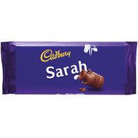 Cadbury Dairy Milk Chocolate Bar 110g - Sarah