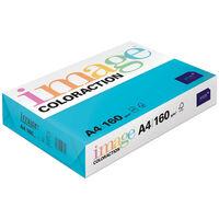A4 Deep Turquoise Lisbon Image Coloraction Copy Paper: 250 Sheets