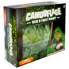 Camouflage Den and Face Paint Set image number 1