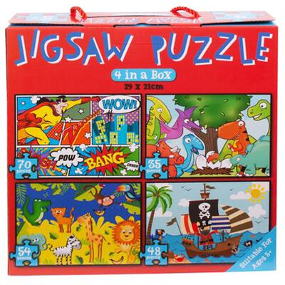 4 in 1 Jigsaw Puzzle Set image number 2