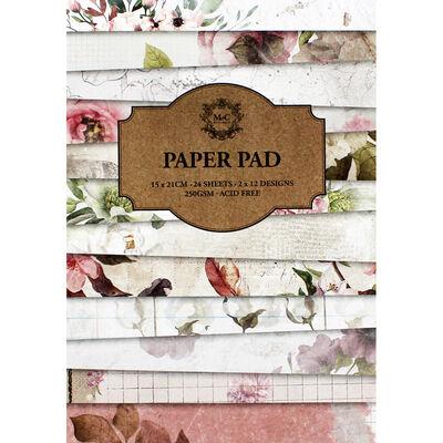 24 Sheet Florals Paper Pad image number 1
