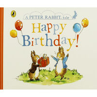 Happy Birthday: A Peter Rabbit Tale