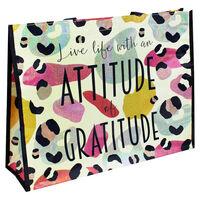 Attitude of Gratitude Reusable Shopping Bag