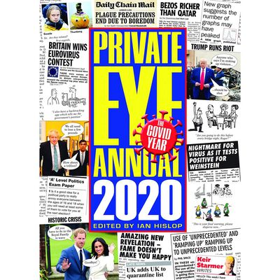 Private Eye Annual 2020 image number 1
