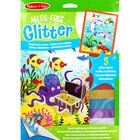 Mess-Free Glitter Art Kit - Underwater Scenes image number 1