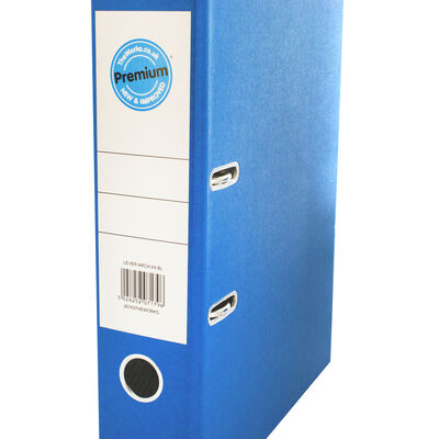 A4 Blue Lever Arch File image number 2