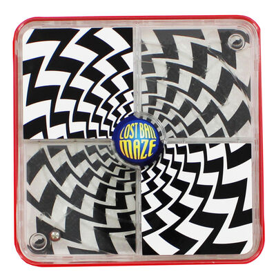 Red Lost Ball Maze image number 1