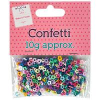 Plastic Flower Confetti