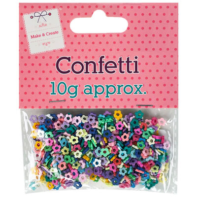 Plastic Flower Confetti image number 1