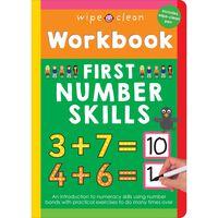 Wipe Clean Workbook: First Number Skills