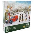 A Village Christmas 500 Piece Jigsaw Puzzle image number 1