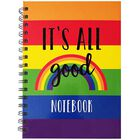 A5 Wiro Rainbow Notebook image number 1