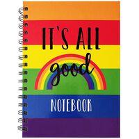 A5 Wiro Rainbow Notebook