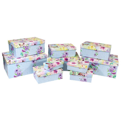 Les Papillons 10 Nested Gift Boxes Set image number 3