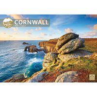 Cornwall A4 Calendar 2021