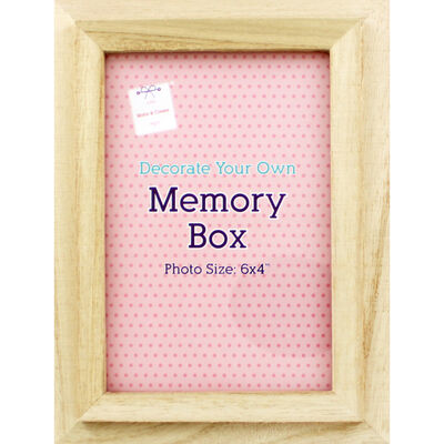 Wooden Memories Photo Frame Box image number 2