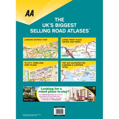 AA Supreme Scale Atlas 2021: Britain image number 4