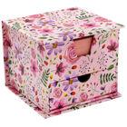 Pink Floral Memo Cube image number 1