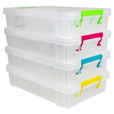 Shallow Storage Box - Set of 3 image number 4