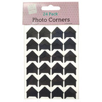 Assorted Photo Corners: Pack of 24