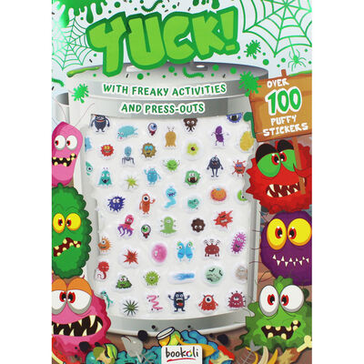 Yuck Puffy Sticker Book image number 1
