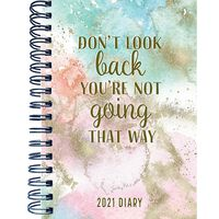 A5 Don't Look Back 2021 Week To View Diary