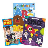 Kids Sticker Activity 3 Book Bundle