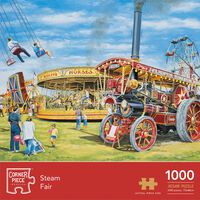 Steam Fair 1000 Piece Jigsaw Puzzle