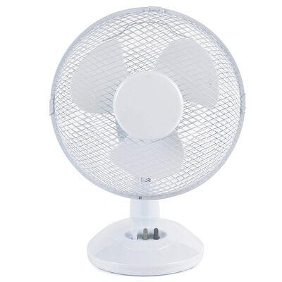 Beldray 9 Inch White Desk Fan image number 1