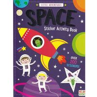Little Space Sticker Activity Book