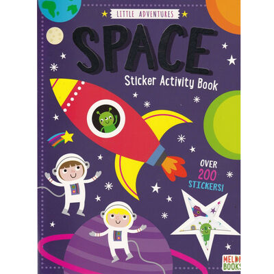 Little Space Sticker Activity Book image number 1
