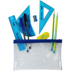 Helix Oxford Limited Edition Filled Pencil Case - Blue image number 2
