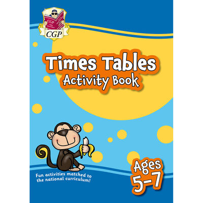 Times Table Activity Book: Ages 5-7 image number 1