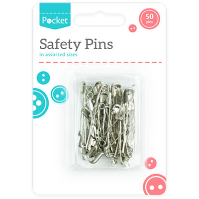 Safety Pins - 50 Pack image number 1