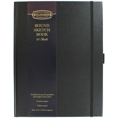 A4 Case Bound Sketch Book image number 1