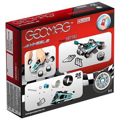 Geomag Wheels: Team Nitro Magnetic Construction Set image number 3