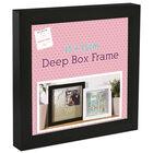 Black Deep Box Frame - 15cm x 15cm image number 1