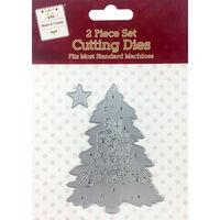 Christmas Tree Metal Die Set