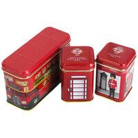 Traditional English Teas In Mini Tins