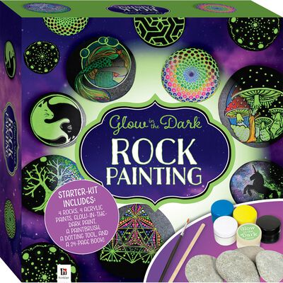 Glow in the Dark Rock Painting image number 1